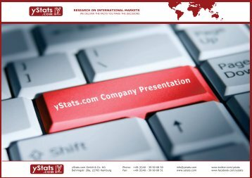 Company Presentation - English (PDF, 3.134kb) - yStats.com