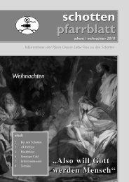 Ausgabe Nr. 33, Advent 2010 - Schottenpfarre