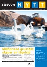 Miljöprisad grustäkt skapar en fågelsjö - Swecon