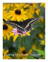 Invasive Plant List - Planting for a Livable Delaware