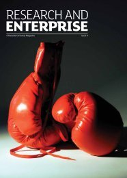 Research and Enterprise, Issue 9 - University of Teesside