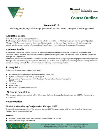 Course Outline Template   New Ctg Course Outline Template