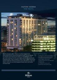 HILTON VIENNA THE FACTS - hotels Vienna