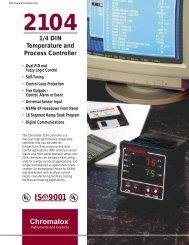 2104 Product Data Sheet - Chromalox Precision Heat and Control