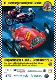 Programmheft 1. und 2. September 2012 - Hamburger Stadtpark ...