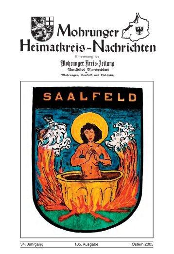 34. Jahrgang 105. Ausgabe Ostern 2005 - auf der überarbeiteten ...