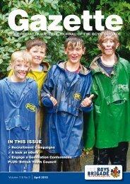 April 2010 - The Boys' Brigade