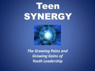 Teen SYNERGY - BOOST Best of Out-Of-School Time Conference