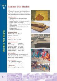 IBT 20 53 Bamboo Mat Boards - UNIDO-ICAMT