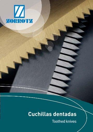 Cuchillas dentadas - Zorrotz