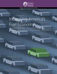 Increasing America's Fuel Economy: - Sierra Club – Ohio Chapter