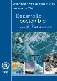 sostenible Desarrollo - E-Library - WMO