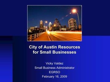 Presentation in PDF Format - Texas On The Go