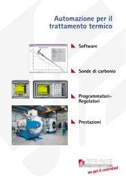 Automazione per il trattamento termico - Stange Elektronik GmbH