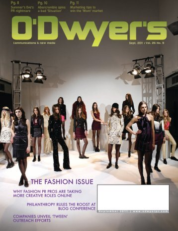 Sep. '11 Beauty & Fashion PR Magazine (PDF) - Odwyerpr.com
