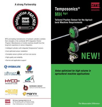 Download Flyer Temposonics MH Agri - MTS Sensors