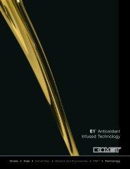 E1™ Antioxidant Infused Technology - Biomet