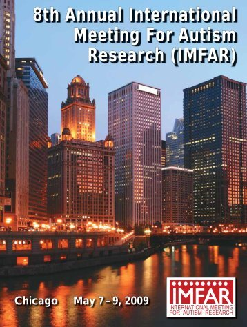 8th Annual International Meeting For Autism Research ... - Confex