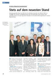 Stets auf dem neuesten Stand - Lutronik Software GmbH