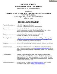Online Application - Yarmouth Ice Club