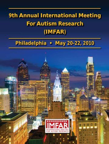 9th Annual International Meeting For Autism Research ... - Confex