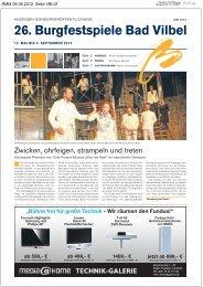 2 26. Burgfestspiele Bad Vilbel - Frankfurter Neue Presse