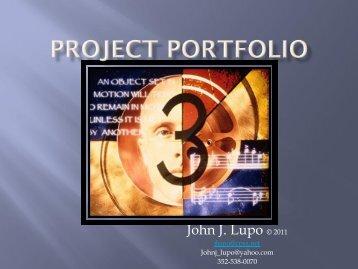 John J. Lupo © 2011