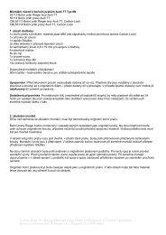 Výrobce: Rieger Kfz-Kunststoffteile und Tuning ... - Escape6 s.r.o.