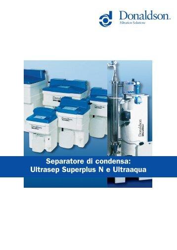 Ultrasep Superplus UFS-SP Oil/Water ... - Michele Caroli Srl