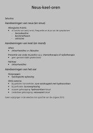 Neus-keel-oren