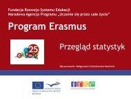 program erasmus - Fundacja Rozwoju Systemu Edukacji