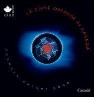 Rapport annuel 2006 - Service canadien de renseignements criminels