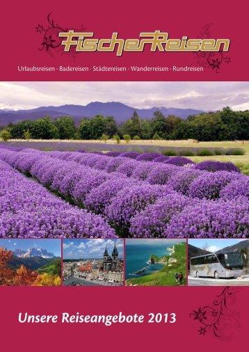 Katalog downloaden (PDF) - Fischer Reisen