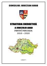 Strategia energetica a judetului Arad pe perioada 2010-2020