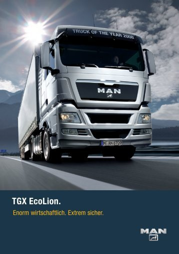 TGX EcoLion. - Hans Hirsch GmbH