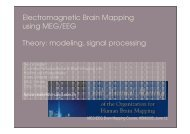 From MEG/EEG signals to brain activations: theory - CNRS