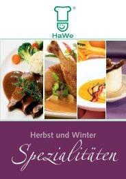 Herbst und Winter - HaWe Nahrungsmittel