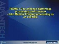 PICMG 1.3 to enhance data/image processing performance