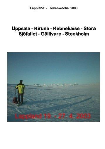 Lappland 2003