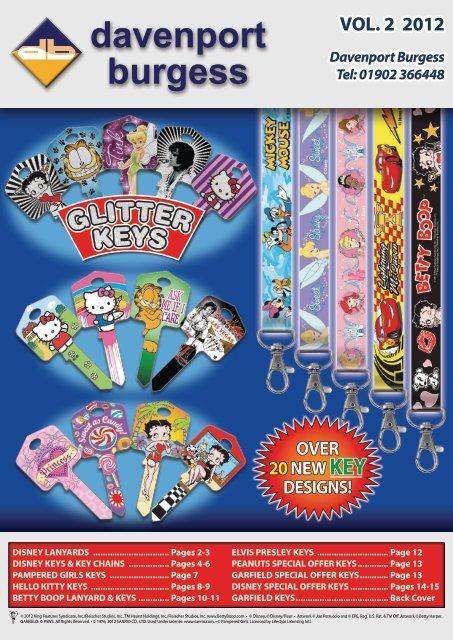 Betty Boop  Red Lanyard Key Chain Betty  Boop-Oop-A-Doop!