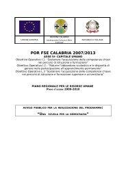 Avviso Programma Scuola per Democrazia - Regione Calabria