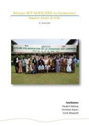Ré séau SCP AGEH/EED au Caméroun - Peaceworkafrica