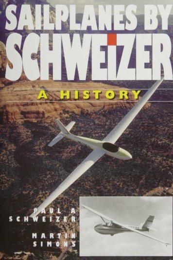 Sailplanes by Schweizer, a History - Lakes Gliding Club