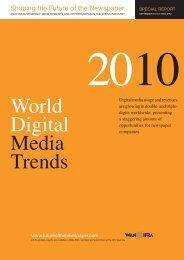 SFN WDMT 2010 - World Association of Newspapers