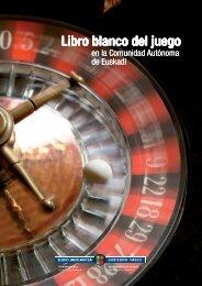 Libro blanco del juego en la Comunidad Autónoma de Euskadi