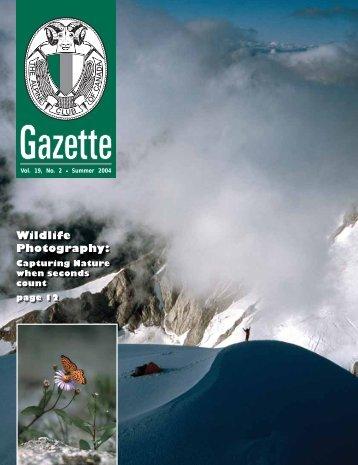 Vol. 19, No. 2 Summer 2004 - The Alpine Club of Canada