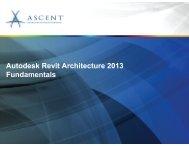 Autodesk Revit Architecture 2013 Fundamentals - OCVTS-ARCH-ENG