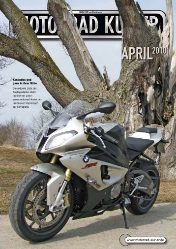 keine Anzahlung - keine Sicherheits- kaution in bar - Motorrad-Kurier