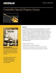 Caterpillar Special Purpose Grease - Venequip