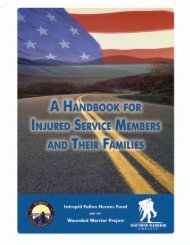 A Handbook for Injured Service Members and Their Families